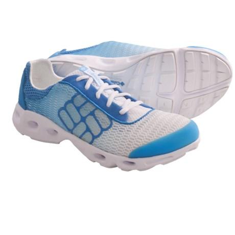 Columbia Sportswear Drainmaker Water Shoes (For Women) in Hanalei/White