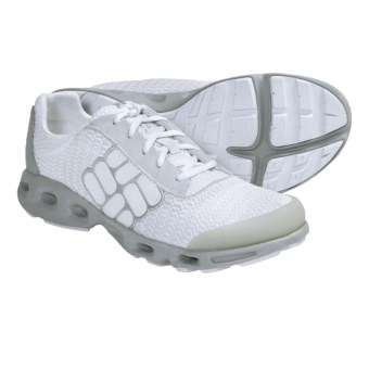 Columbia Sportswear Drainmaker Water Shoes (For Women) in White/Silver