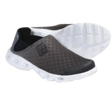 Columbia Sportswear Drainmaker Water Shoes - Slip-Ons (For Men) in Black/White - Closeouts