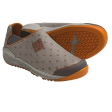 Columbia Sportswear Drainmaker Water Shoes - Slip-Ons (For Youth) in Charcoal/Valencia - Closeouts