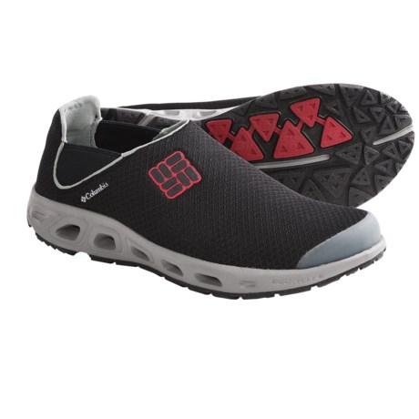 Columbia Sportswear Drainslip II Water Shoes (For Men) in Black/Intense Red