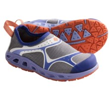 Columbia Sportswear Drainsock II Water Shoes - Slip-Ons (For Youth) in Boulder/Zing - Closeouts