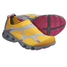 Columbia Sportswear Drainsock Water Shoes - Slip-Ons (For Women) in Cyber Yellow/Fuchsia Rose - Closeouts