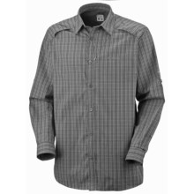 Columbia Sportswear Dual Track Shirt - Long Sleeve (For Men) in Charcoal - Closeouts
