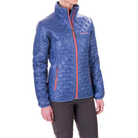 Columbia Sportswear Dualistic Omni-Heat® Jacket - Insulated (For Women) in Bluebell/Hot Coral - Closeouts