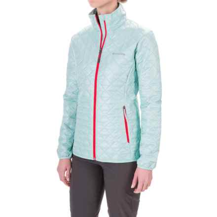 Columbia Sportswear Dualistic Omni-Heat® Jacket - Insulated (For Women) in Spray/Red Camellia - Closeouts