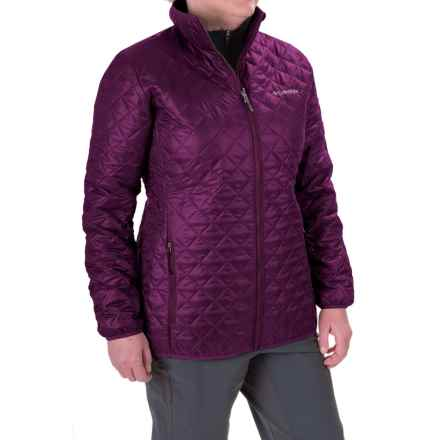 Columbia Sportswear Dualistic Omni-Heat® Mid Jacket - Insulated (For Women) in Purple Dahlia - Closeouts