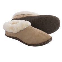 Columbia Sportswear Duchess Hill Slippers - Suede (For Women) in British Tan - Closeouts