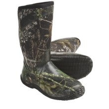 Columbia Sportswear Duck Club Tall Hunting Boots - Waterproof (For Men) in Mossy Oak New Break-Up - Closeouts