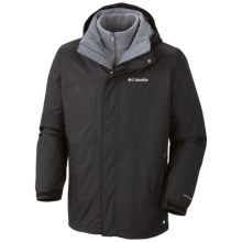 Columbia Sportswear Eager Air II Jacket - 3-in-1 (For Men) in Black - Closeouts