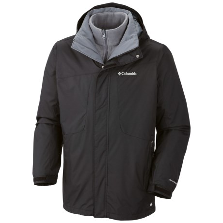 Columbia Sportswear Eager Air II Jacket - 3-in-1 (For Men) in Black