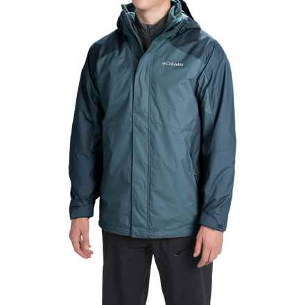 Columbia Sportswear Eager Air Interchange Jacket - 3-in-1 (For Men) in Everblue/Everblue - Closeouts