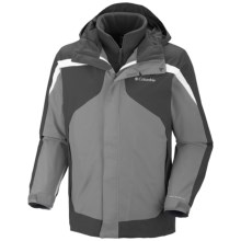 Columbia Sportswear Eager Air Interchange Jacket - 3-in-1 (For Men) in Light Grey - Closeouts