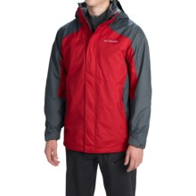 Columbia Sportswear Eager Air Interchange Jacket - 3-in-1 (For Men) in Rocket/Graphite - Closeouts