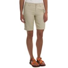 Columbia Sportswear East Ridge 2 Omni-Wick® Shorts - UPF 30 (For Women) in Fossil - Closeouts
