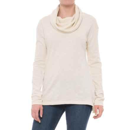 Columbia Sportswear Easygoing Tunic Shirt - Cowl Neck, Long Sleeve (For Women) in Chalk