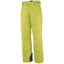 Columbia Sportswear Echochrome Snow Pants - Insulated, Omni-Tech® (For Men) in Leapfrog - Closeouts