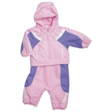 Columbia Sportswear Edie Princess Jacket and Bib Set - Insulated (For Infant Girls) in Isla - Closeouts