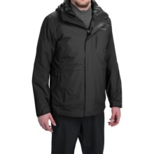 Columbia Sportswear Element Blocker Interchange Omni-Tech® Hooded Jacket - Waterproof, Insulated, 3-in-1 (For Men) in Black - Closeouts