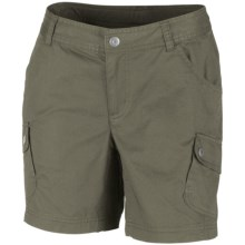 Columbia Sportswear Elkhorn II Cotton Twill Shorts - UPF 50 (For Women) in Cypress - Closeouts