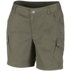 Columbia Sportswear Elkhorn II Cotton Twill Shorts - UPF 50 (For Women) in Cypress