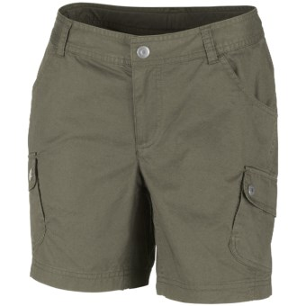 Columbia Sportswear Elkhorn II Cotton Twill Shorts - UPF 50 (For Women) in Cypress