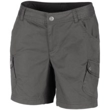 Columbia Sportswear Elkhorn II Cotton Twill Shorts - UPF 50 (For Women) in Grill - Closeouts