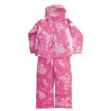 Columbia Sportswear Ella Graceful Set - Insulated (For Infant Girls) in Pink Phlox Print