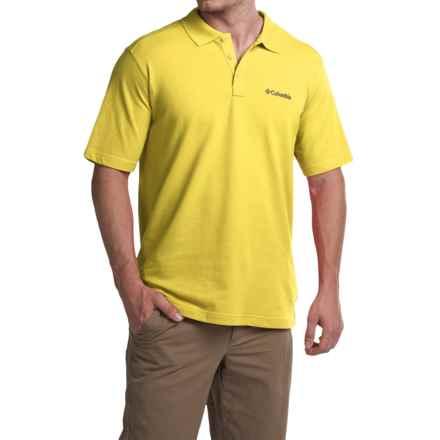 Columbia Sportswear Elm Creek Polo Shirt - UPF 15, Short Sleeve (For Men) in Buttercup - Closeouts