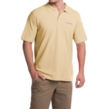 Columbia Sportswear Elm Creek Polo Shirt - UPF 15, Short Sleeve (For Men) in Cane - Closeouts