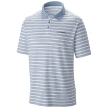 Columbia Sportswear Elm Creek Polo Shirt - UPF 15, Short Sleeve (For Men) in Dark Mirage - Closeouts
