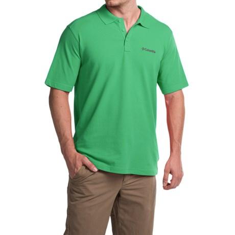 Columbia Sportswear Elm Creek Polo Shirt - UPF 15, Short Sleeve (For Men) in Emerald City