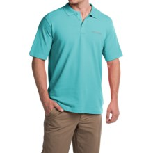 Columbia Sportswear Elm Creek Polo Shirt - UPF 15, Short Sleeve (For Men) in Opal Blue - Closeouts