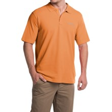 Columbia Sportswear Elm Creek Polo Shirt - UPF 15, Short Sleeve (For Men) in Solar - Closeouts