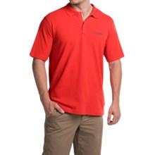 Columbia Sportswear Elm Creek Polo Shirt - UPF 15, Short Sleeve (For Men) in Super Sonic - Closeouts