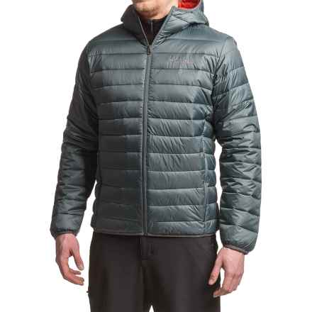 Columbia Sportswear Elm Ridge Hybrid Puffer Hooded Jacket - Insulated (For Men) in Graphite - Closeouts
