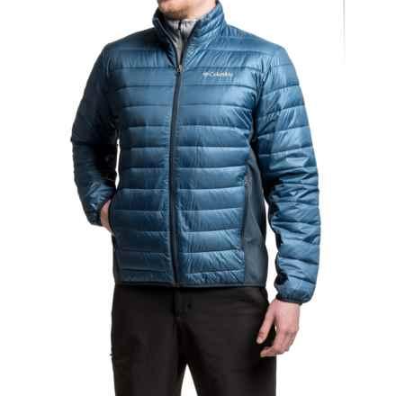 Columbia Sportswear Elm Ridge Hybrid Puffer Jacket - Insulated (For Men) in Night Tide/Collegiate Navy - Closeouts
