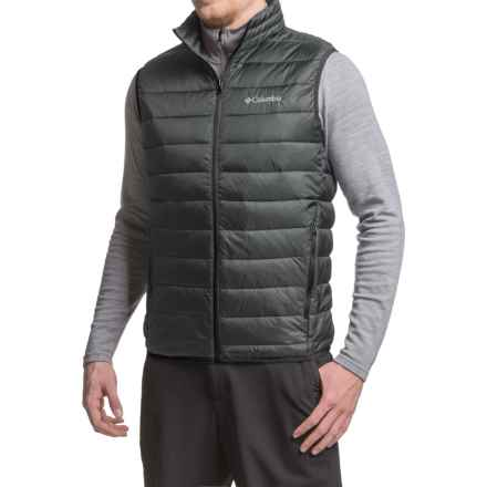 Columbia Sportswear Elm Ridge Puffer Vest - Insulated (For Men) in Black - Closeouts