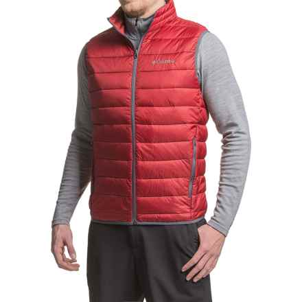 Columbia Sportswear Elm Ridge Puffer Vest - Insulated (For Men) in Jester Red - Closeouts