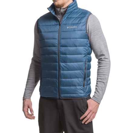 Columbia Sportswear Elm Ridge Puffer Vest - Insulated (For Men) in Night Tide - Closeouts
