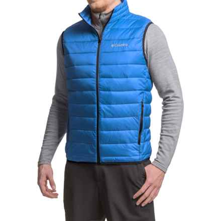 Columbia Sportswear Elm Ridge Puffer Vest - Insulated (For Men) in Super Blue - Closeouts