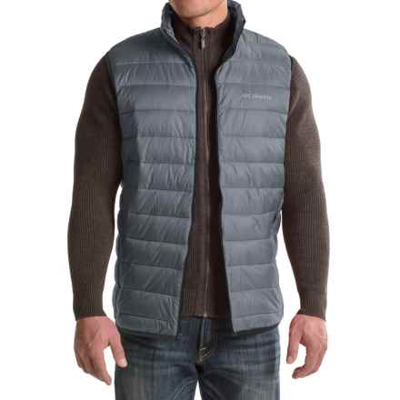 Columbia Sportswear Elm Ridge Puffer Vest - Insulated (For Tall Men) in Graphite - Closeouts