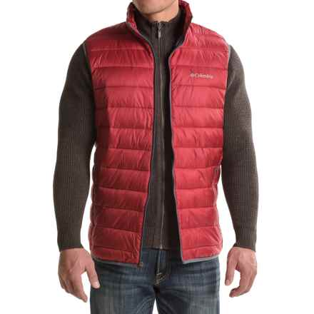 Columbia Sportswear Elm Ridge Puffer Vest - Insulated (For Tall Men) in Jester Red - Closeouts