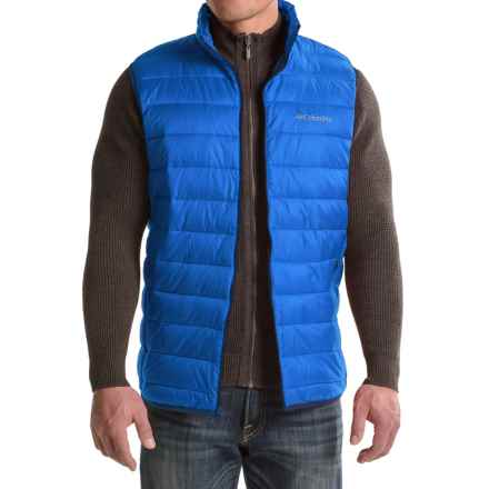 Columbia Sportswear Elm Ridge Puffer Vest - Insulated (For Tall Men) in Super Blue - Closeouts
