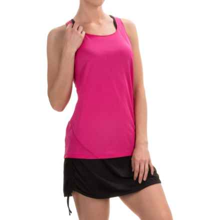 Columbia Sportswear Endless Freeze Omni-Freeze® Tank Top - Racerback (For Women) in Haute Pink - Closeouts
