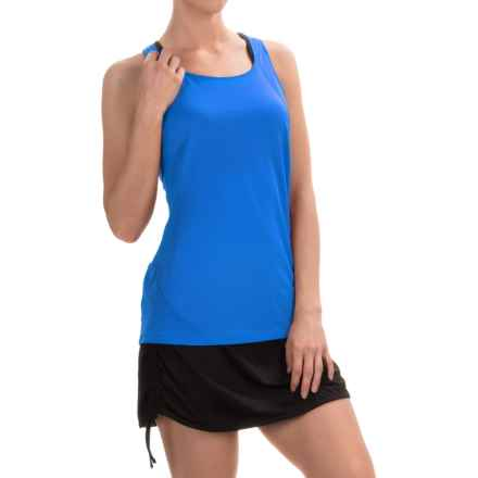 Columbia Sportswear Endless Freeze Omni-Freeze® Tank Top - Racerback (For Women) in Stormy Blue - Closeouts