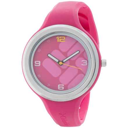Columbia Sportswear Escapade Gem Watch - Silicone Unibody Band (For Women) in Pink - Closeouts
