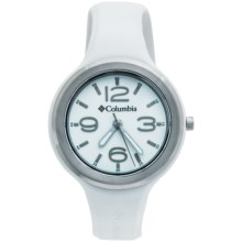 Columbia Sportswear Escapade Watch (For Women) in White/White/Silver - Closeouts