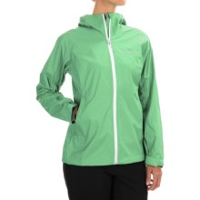 Columbia Sportswear EvaPOURation Omni-Tech® Jacket - Waterproof (For Women) in Chameleon Green - Closeouts