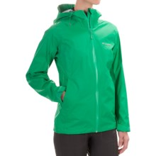 Columbia Sportswear EvaPOURation Omni-Tech® Jacket - Waterproof (For Women) in Dark Lime - Closeouts